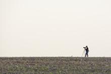 Ornithologische Beobachtungen zur Zugzeit. © S. Rösner