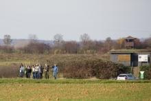 Ornithologische Exkursion am Pfaffensee. © S. Rösner